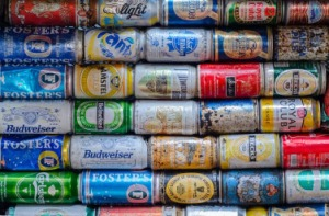 Cans in exchange for money is a salvation that comes and goes here in Australia