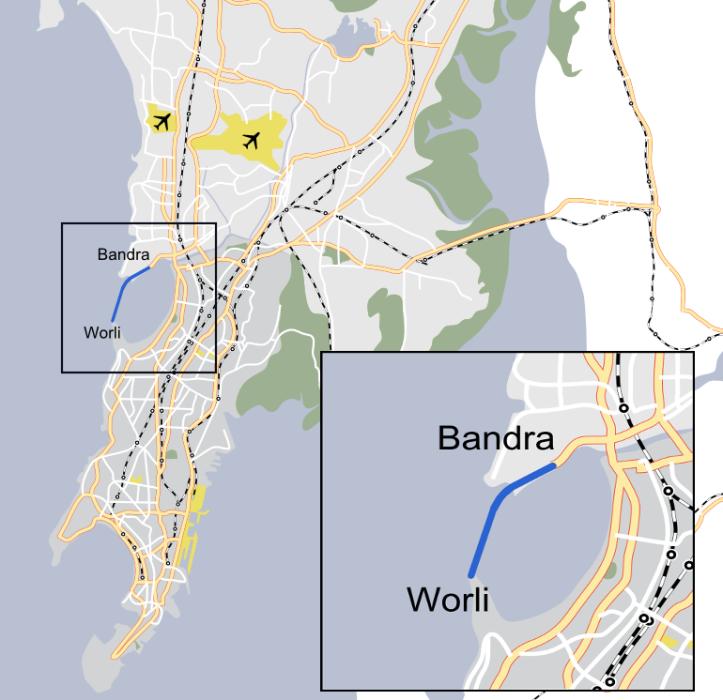 bandra-worli_sea_link_map