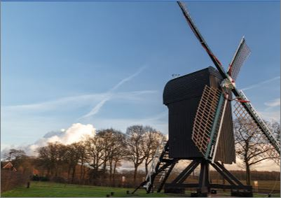 Standerdmolen(Type of mill) Ter Haar provided by Jaap Fijma Dec 2017